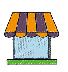 store icon image vector image