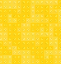 Yellow constructor blocks seamless pattern vector image