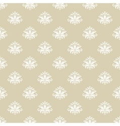 Vintage pattern seamless background vector image vector image
