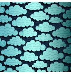 Cloudy Sky Banner vector image vector image