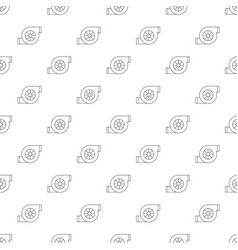 Air filter car pattern seamless vector
