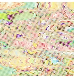 Art square mosaic background vector image
