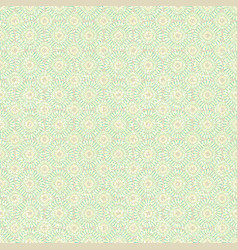beautiful vintage background of seamless floral vector image