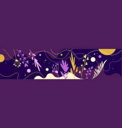 Bright background with geometric shapes and vector