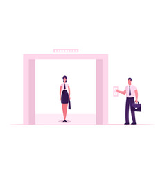 businesswoman or office worker wearing formal vector image
