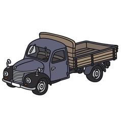 Classic truck vector