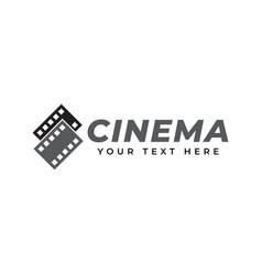 Film logo design template isolated vector