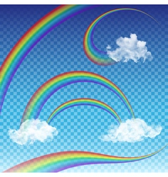 Rainbows Collection vector image