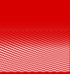 red chess space abstract background vector image