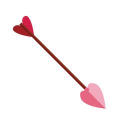 cupid arrow symbol vector image