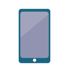 digital smartphone with big screen icon vector image
