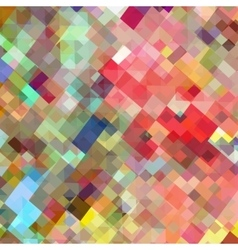 Art square mosaic background vector image vector image