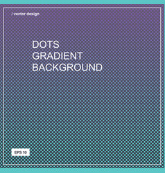 color gradient halftone background dots texture vector image