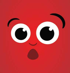 Dizzy Face Character vector