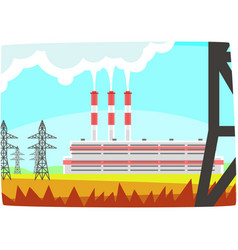 Energy producing station electricity generation vector