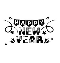 New year logo image vector