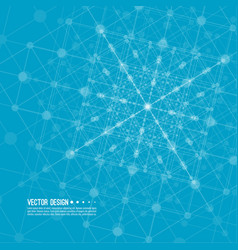 virtual abstract background vector image