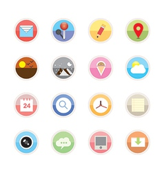 Web icons 22 vector image