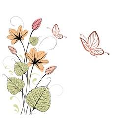 summer illustration vector image vector image