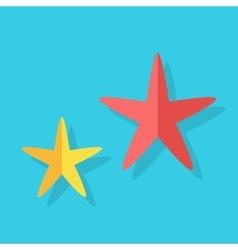 Cheerful Cute Starfishe vector image vector image