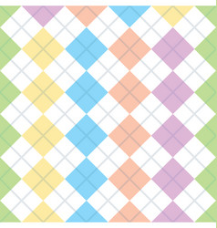 geometry seamless squares background vector image vector image