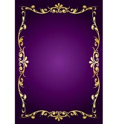 purple luxury background vector image vector image