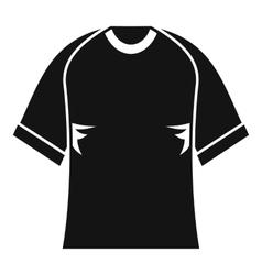 Raglan tshirt icon simple style vector image