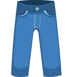 A jeans pants vector