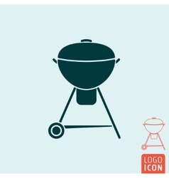 Barbecue icon isolated vector