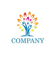 Community and non profit logo vector