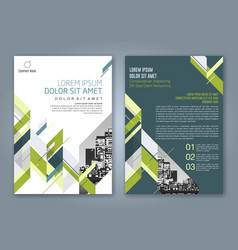 Cover annual report 884 vector