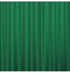 Fabric curtains vector