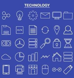 Linear technology icon for website and app vector