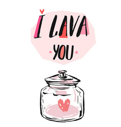 love invitation card valentine vector image