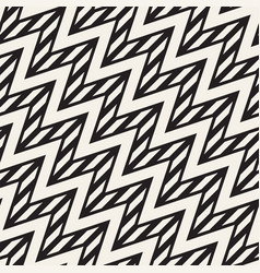 Seamless zigzag line pattern abstract stylish vector