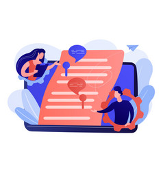 Shared document concept vector