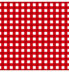 Checkered pattern Retro tablecloth texture vector image