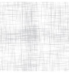White linen seamless texture vector image