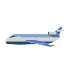 big passenger jet vector image