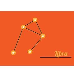 Constellation libra vector