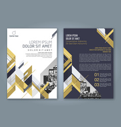 Cover annual report 889 vector