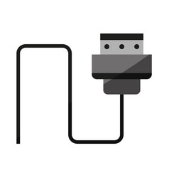 digital device charger icon image vector image
