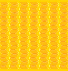 Geometric texture with space design on yellow vector