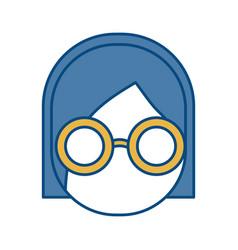 glasses accessory design vector image
