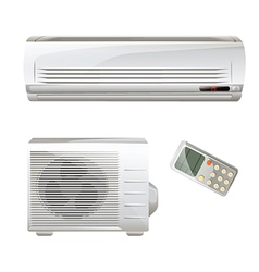 Heat pump and air conditioning vector
