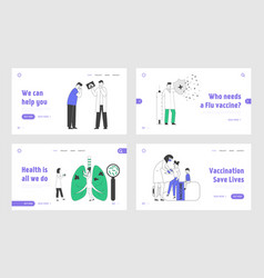 Respiratory system examination and health vector
