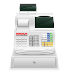 cash register stock vector image