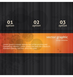 Modern Option Background vector image vector image