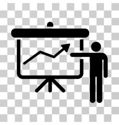 Project Presentation Icon vector image vector image