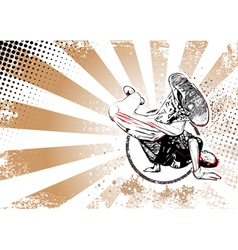 breaker poster vector image